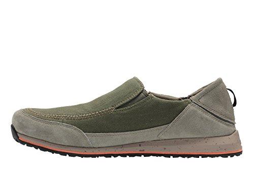 Clarks Athleisure Hombre Zapatos Campton Base En Textil Verde