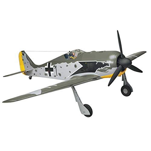 (Top Flite Focke-Wulf FW-190 Radio Controlled Gasoline Powered 55cc Giant Scale Almost-Ready-to-Fly Warbird Airplane)
