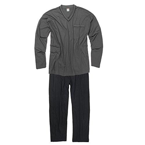 Foncés noir Gris Pyjama Adamo Xxl Fashion xXRwnqF
