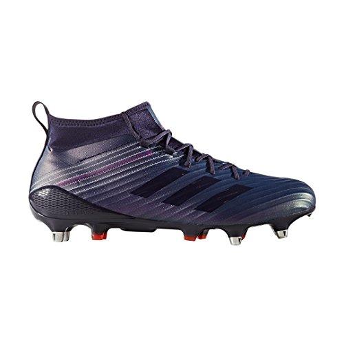 Adidas Predator Flare SG Rugby Boots - Navy/Purple - UK 6.5 (Adidas Predator Rugby)