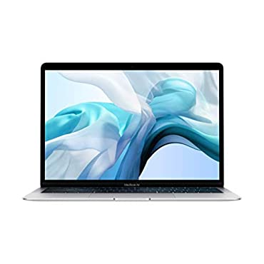 "Apple MacBook Air (13"" Retina display, 1.6GHz dual-core Intel Core i5, 256GB) Silver (Latest Model)"