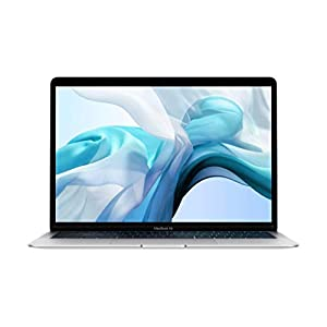 Apple MacBook Air (13-inch, 8GB RAM, 256GB Storage, 1.6GHz Intel Core i5) - Silver (Previous Model) 8