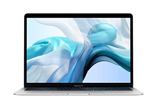Apple MacBook Air (13-inch Retina display, 1.6GHz dual-core Intel Core i5, 128GB) – Silver (Latest Model)