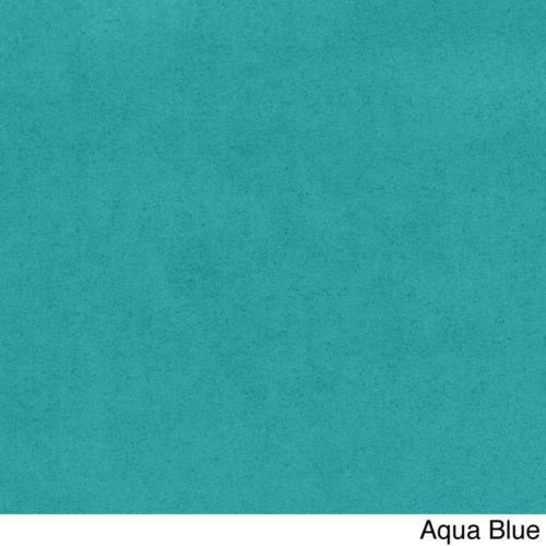 Microsuede Papasan Cushion/Floor Pillow/Pet Bed, 48 Inch Teal Aqua Blue, Compare to Bean Bag Chairs, Gaming Chairs