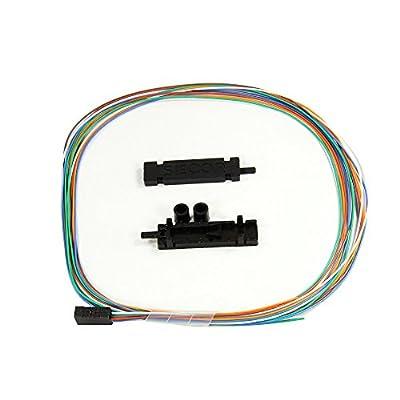 """6 Fiber Buffer Tube & Ribbon Fan-out Kit, 36"""" Tubing, Accepts 250um"""