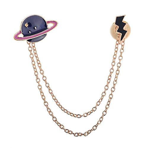 (Brooch Pins Alloy Rhinestone Brooch Pin Cartoon Enamel Lapel Collar Pin Corsage (StyleID -)