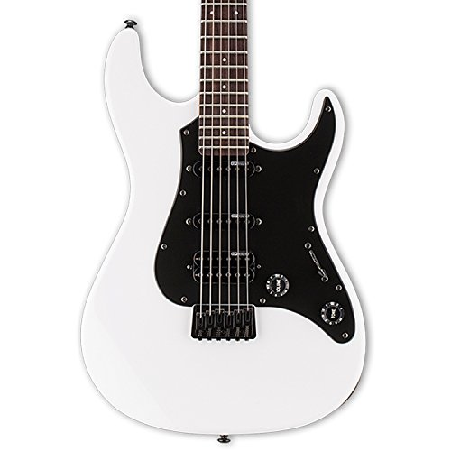 ESP LSN200HTRSW Solid-Body Electric Guitar, Snow White