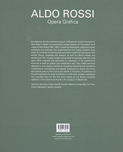 The Window of the Poet Prints 1973-1997 Aldo Rossi