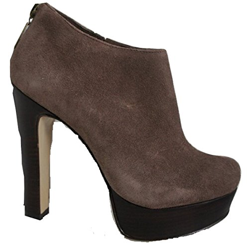 All Leather Mocha Brown Platform Shoe Boots ZczTk