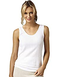 100% Cotton Rib Knit Camisole, 3-pk- Misses, Womens