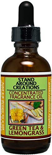 Concentrated Fragrance Oil - Scent - Green Tea and Lemon Grass: This bright note begins w/orange Valencia, bergamot tea. Contains natural essential oils. (2 fl.oz.)