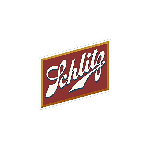 Schlitz Classic Beer Vintage Drag Racing sticker