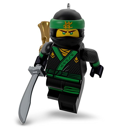 Hallmark Keepsake Christmas Ornament 2018 Year Dated, LEGO Ninjago Lloyd
