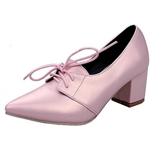Zanpa Pumps Top Heels Mode Pink Low Donne rtwqI1w