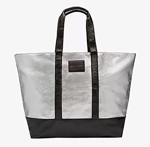 Victoria Secret Women's Tote Bag silver silber