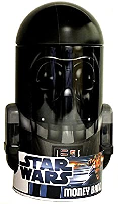 Star Wars Darth Vader Shaped Tin Bank