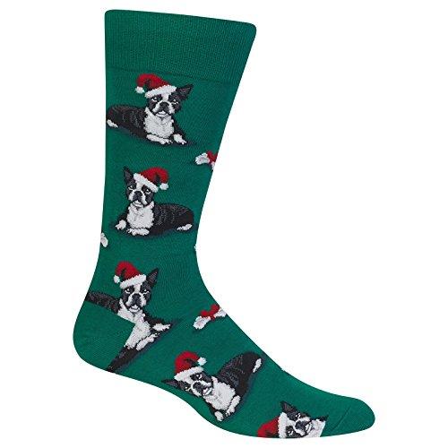 Terrier Christmas Sock (Boston Terrier Christmas)