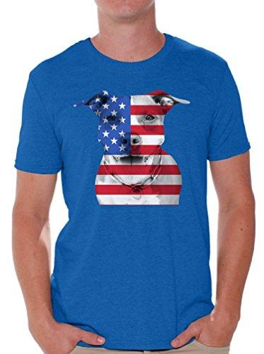 Awkward Styles USA Shirt 4th of July Shirt USA Flag Tshirt USA Flag Pitbull Shirt - Pit Bulldog Patriotic