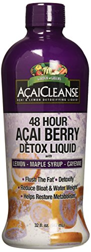 Garden Greens Acai Cleanse,48 hr Detox, 32 Fl Oz