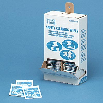 5 x 8 Antibacterial Office Equipment Wet Wipes (100/Box) (Antibacterial Safety Cleaning Wipes)