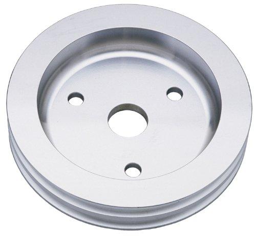 Trans-Dapt 9481 Aluminum 2-Groove Crankshaft (Groove Crankshaft Pulley)