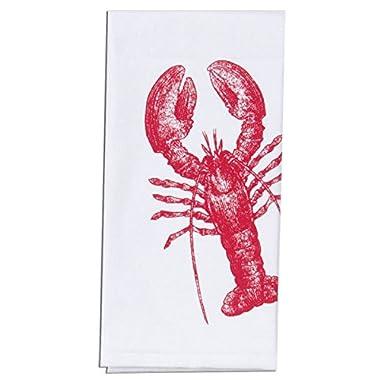 Kay Dee Designs A8508 Lobster Nautical Krinkle Flour Sack Towel