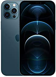 New Apple iPhone 12 Pro Max (256GB, Pacific Blue) [Locked] + Carrier Subscription