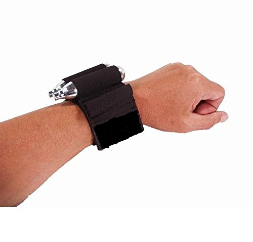 (Ronin Gear Stock Class Pump Paintball Play Wrist 5 CO2 Cartridge 10-Shot Tube Holder)