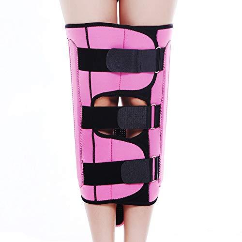 Leg Straightener Straps To Correct O/X Type Leg Correction Belt Band Beauty Leg Straighten Tape Bandage Adjustable Double Belt Strap Fixing (Color : Pink, Size : L) by Sharon (Image #3)