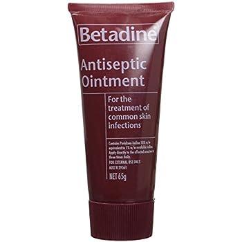 Amazon com: Betadine Antiseptic Ointment 25g: Health