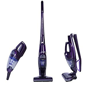 npole 2 in 1 cordless upright vacuum cleaner rechargeable bagless stick and. Black Bedroom Furniture Sets. Home Design Ideas