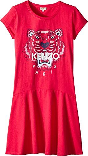 Kenzo Kids Girl's Dress Classic Tiger (Big Kids) Fuchsia 14 by Kenzo Kids (Image #1)