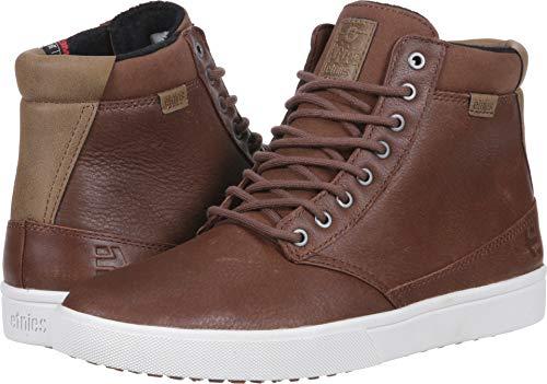 Etnies Men's Jameson Htw Skate Shoe, Brown/tan/White, 9 Medium US ()
