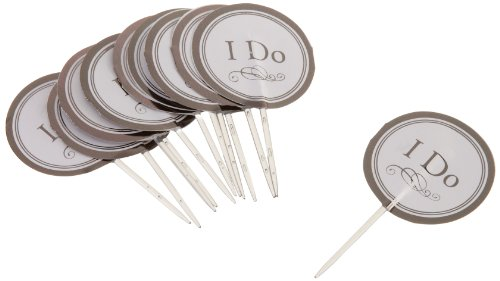 Wilton 2113-0332 Wedding I Do Fun Pix, 12 Count- Discontinued By Manufacturer