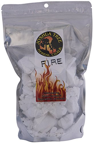 Joshua Tree Herbal Loose Chalk for Climbing and Gymnastics Spice Scented Fire