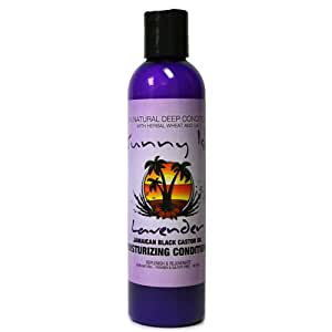 Lavender Jamaican Black Castor Oil 100% Natural Deep Conditioner with Herbal Wheat & Oat 8 Oz