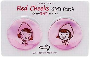 Tony Moly - Parches para Mejillas - Red Cheeks Girls Patch: Amazon.es: Belleza