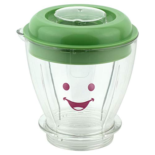 Felji Batch Bowl Replacement for Baby Bullet, Includes Lid