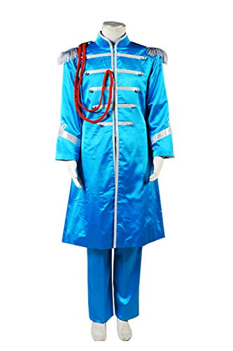 GOTEDDY Halloween Cosplay Paul Costume Party Dress Up Blue Outfit (S) ()
