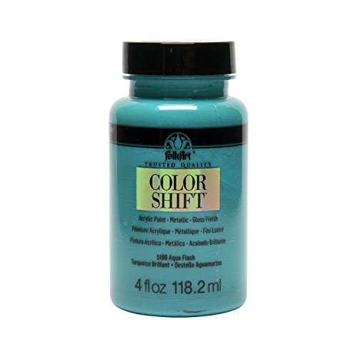 (FolkArt Color Shift Acrylic Paint in Assorted Colors (4 oz), 5190 Aqua)