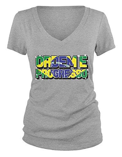 amdesco-juniors-ordem-e-progresso-brazil-national-motto-v-neck-t-shirt-heather-gray-medium