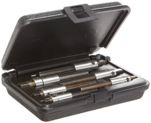Walton 18003 6-Piece 4 Flute Tap Extractor Set With Square Shank