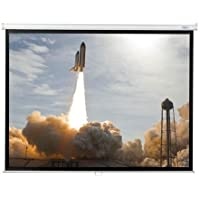 Matte White Portable Projector Screen Viewing Area: 60 H x 80 W