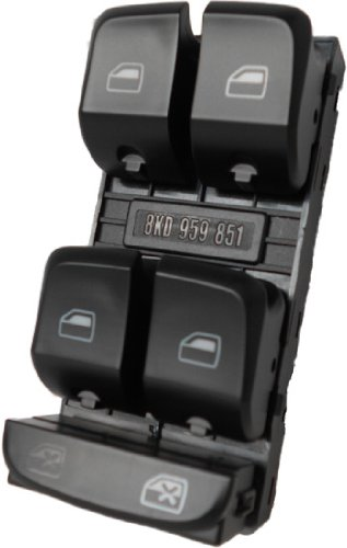 - SWITCHDOCTOR Window Master Switch for 2009-2012 Audi A4 2009-2012