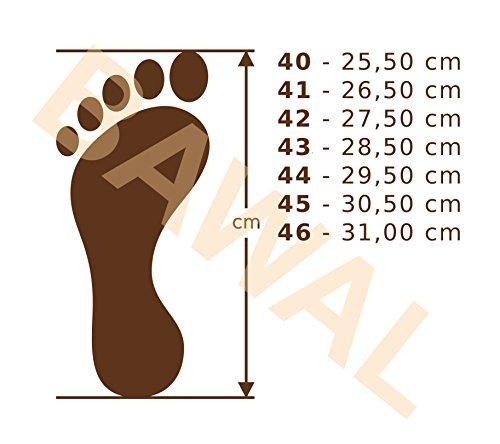 BeComfy Herren Hausschuhe Leder Pantoffeln Supermen Relax Suede Wildleder Schwarz Geschenkkarton (Wahlweise) Schwarz-Beige