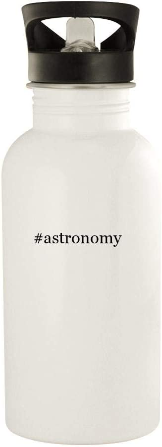 #astronomy - 20oz Hashtag Stainless Steel Water Bottle, White 41N94JEH59L