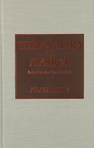 Who's Who in Africa by Scarecrow Press