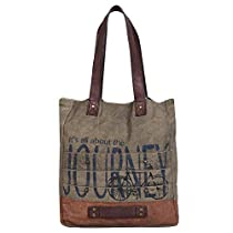 Journey Canvas &amp Leather Tote