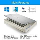 Plustek A3 Flatbed Scanner OS 1180 : 11.7x17 Large