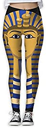 King Pharaoh Tutankhamun Egypt Tut Egyptian Women High Waist Yoga Sweatpants
